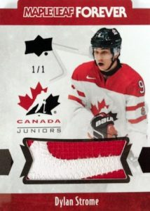 2016 Upper Deck Team Canada Juniors Hockey Maple Leaf Forever Men's Sleeve Patch
