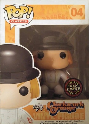 Funko Pop Clockwork Orange 04 Classics GITD Chase