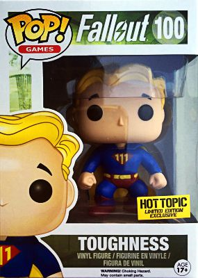 Funko Pop Fallout 100 Toughness Hot Topic
