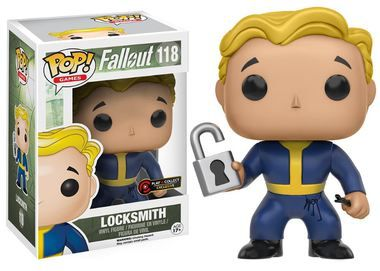 Funko Pop Fallout 118 Locksmith Play and Collect