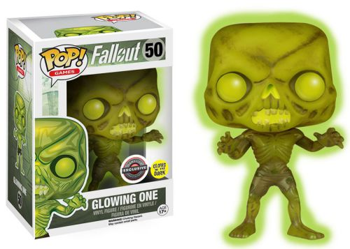 Funko Pop Fallout 50 Glowing One GITD GameStop