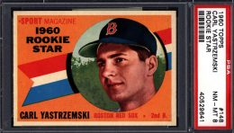 Press Release: Just Collect Auction Highlighted by 1960 Topps Baseball Set Break 3