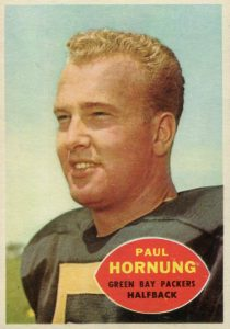 Top 10 Paul Hornung Football Cards 9
