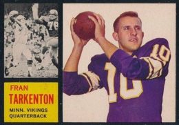 Top 10 Fran Tarkenton Football Cards 10