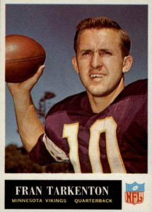 Top 10 Fran Tarkenton Football Cards 4