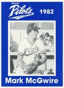 1982 Anchorage Glacier Pilots Mark McGwire