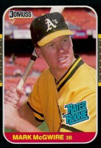 Top 10 Mark McGwire Baseball Cards 1