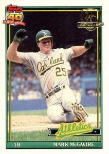 Top 10 Mark McGwire Baseball Cards 3