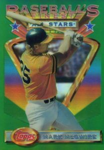 Top 10 Mark McGwire Baseball Cards 6