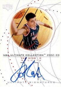 The Ming Dynasty! Top Yao Ming Basketball Cards, Rookie Cards 9