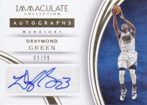 2015-16 Panini Immaculate Basketball Autographs