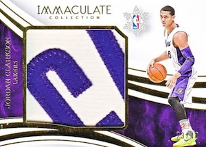 2015-16 Panini Immaculate Basketball Christmas Day Relics