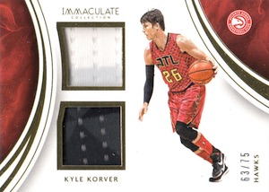 2015-16 Panini Immaculate Basketball Cards 32