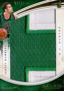 2015-16 Panini Immaculate Basketball Jumbo Patches Team Logos Relics Jersey Numbers