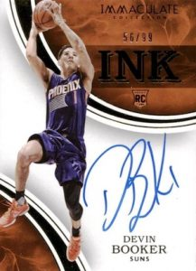 2015-16 Panini Immaculate Basketball Rookie Ink Autographs Devin Booker