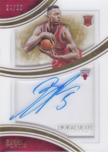 2015-16 Panini Immaculate Basketball Shadowbox Signatures