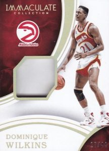 2015-16 Panini Immaculate Basketball Sneaker Swatches
