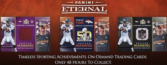 2016-17 Panini Eternal Trading Cards 1