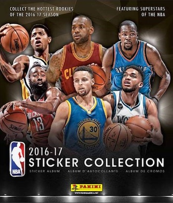 2016-17 Panini NBA Sticker Checklist, Set Info, Boxes, More