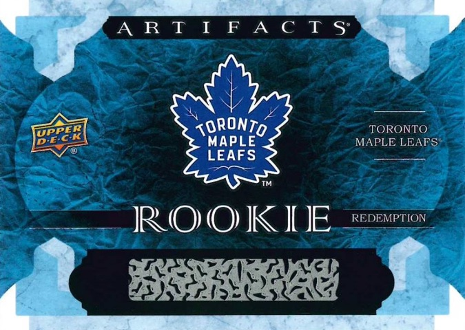 2016-17 Upper Deck Artifacts Hockey Base Rookie Redemption