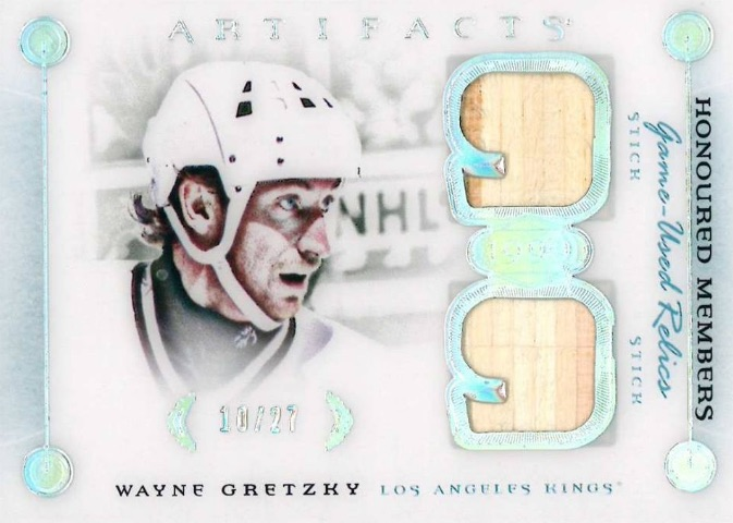2016-17 Upper Deck Artifacts Hockey Honoured Members Relics Gretzky