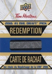 2016-17 Upper Deck Tim Hortons Hockey Cards 20