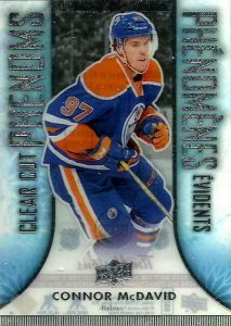 2016-17 Upper Deck Tim Hortons Hockey Clear Cut Phenoms Connor McDavid