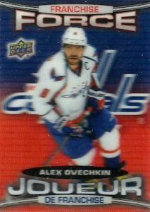 2016-17 Upper Deck Tim Hortons Hockey Franchise Force Ovechkin