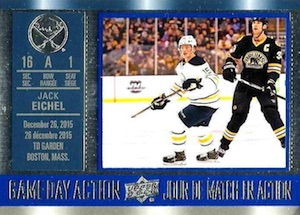 2016-17 Upper Deck Tim Hortons Hockey Game Day Action