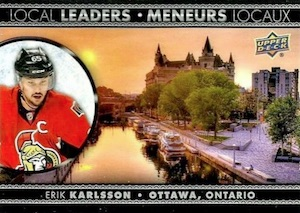 2016-17 Upper Deck Tim Hortons Hockey Local Leaders