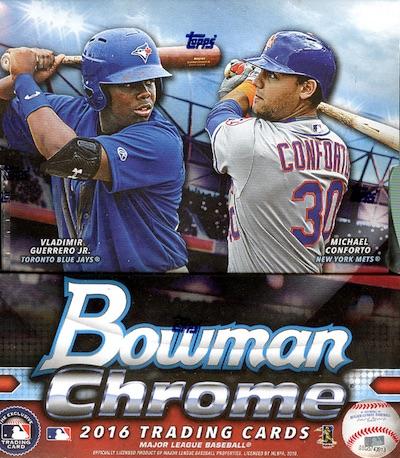 2016 Bowman Chrome Baseball Cards 35