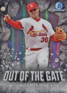 2016 Bowman Chrome Baseball Out of the Gate