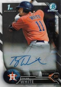 2016 Bowman Chrome Baseball Prospect Autographs Tyler White