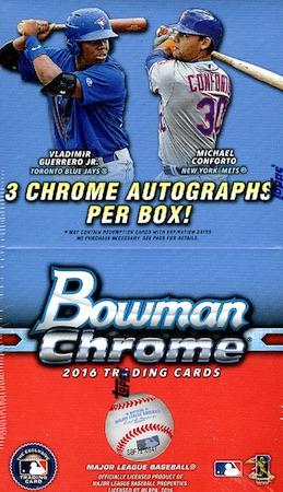 2016 Bowman Chrome Baseball Cards 46