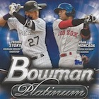2016 Bowman Platinum Baseball Cards