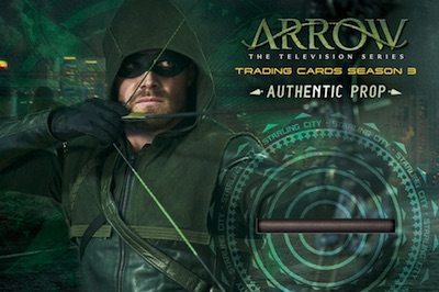 2017 Cryptozoic Arrow Season 3 Authentic Prop Incentive