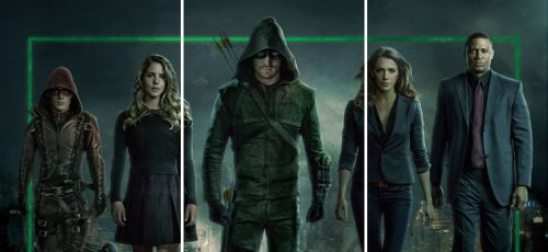 2017 Cryptozoic Arrow Season 3 Team Arrow
