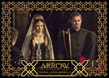 2017 Cryptozoic Arrow Season 3 Wedding