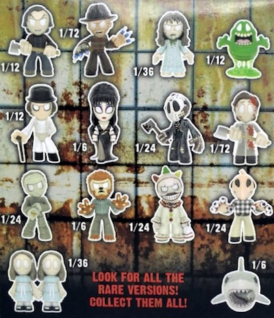 2016 Funko Horror Classics Mystery Minis Series 3 - Odds and Exclusives Added 1