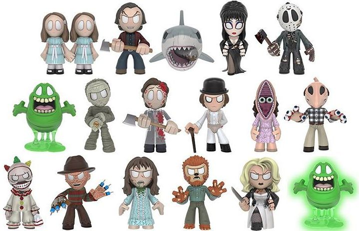 2016 Funko Horror Classics Mystery Minis Series 3 - Odds and Exclusives Added 2