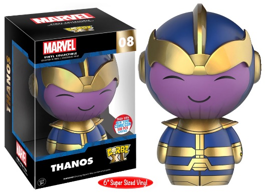 2016 Funko New York Comic Con Exclusives Dorbx XL #08 Thanos 6%22 Super Sized Vinyl