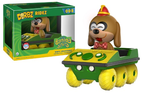 2016 Funko New York Comic Con Exclusives Dorbz Ridez #008 The Banana Splits Fleegle