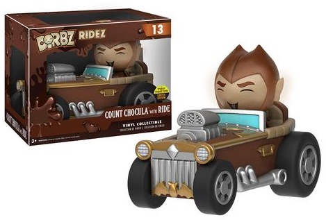 2016 Funko New York Comic Con Exclusives Dorbz Ridez #13 Count Chocula