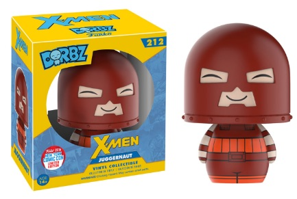 2016 Funko New York Comic Con Exclusives Dorbz X-Men #212 Juggernaut