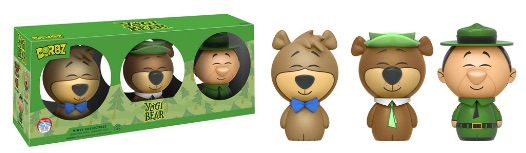 2016 Funko New York Comic Con Exclusives Dorbz Yogi Bear 3-Pack Yogi, Boo Boo, Ranger