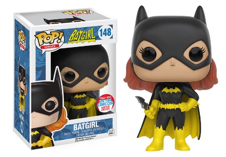 2016 Funko New York Comic Con Exclusives Pop Batgirl #148 Classic Batgirl