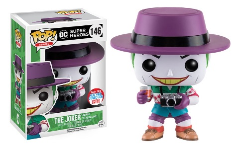 2016 Funko New York Comic Con Exclusives Pop DC Super Heroes #146 The Joker Killing Joke