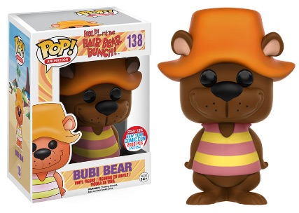 2016 Funko New York Comic Con Exclusives Pop Hair Bear Bunch #138 Bubi Bear