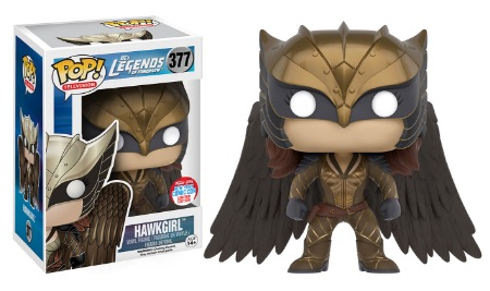 2016 Funko New York Comic Con Exclusives Pop Legends of Tomorrow #377 Hawkgirl