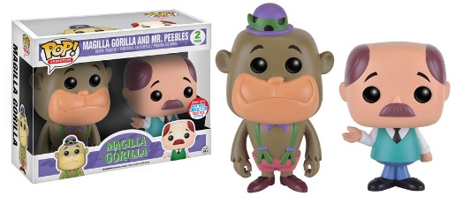 2016 Funko New York Comic Con Exclusives Pop Magilla Gorilla 2-Pack Magilla Gorilla and Mr. Peebles